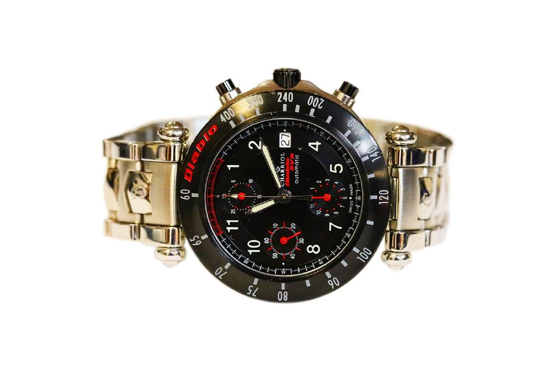 Philippe Charriol Diablo SVR Lamborghini Watch - 3