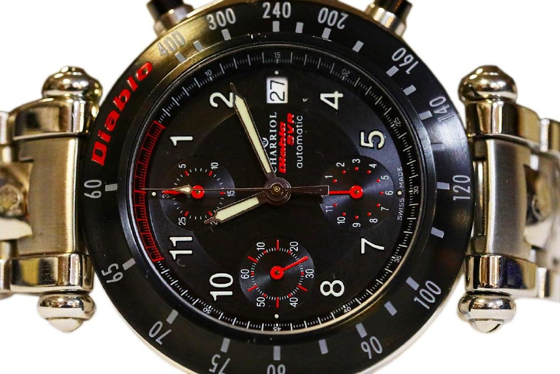 Philippe Charriol Diablo SVR Lamborghini Watch - 4