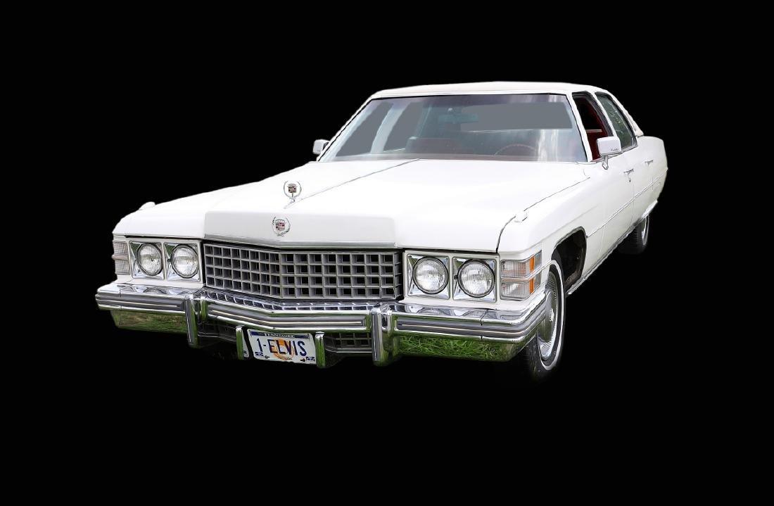 Elvis Presley Gifted 1974 Cadillac Fleetwood
