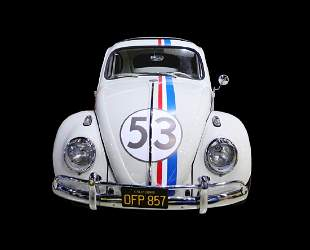 Herbie: Fully Loaded 1963 VW Beetle Signed by Cast