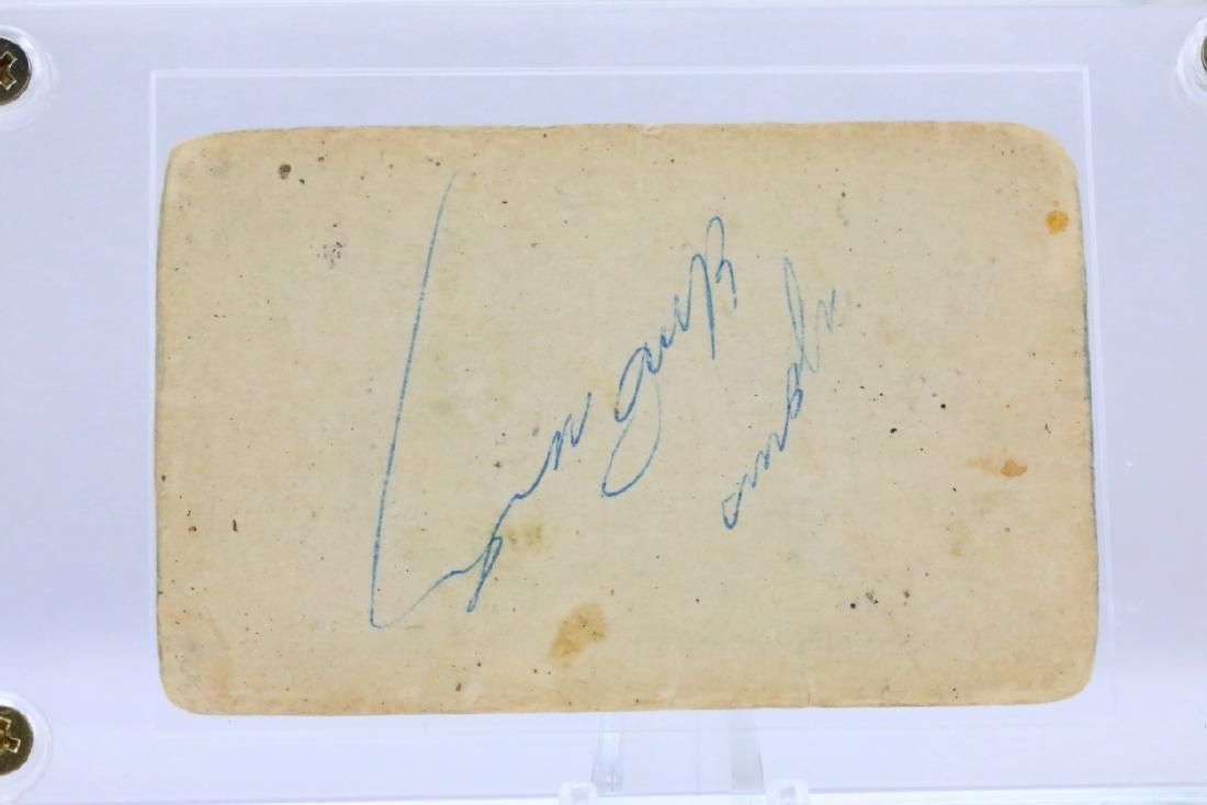 Elvis Presley Cut Signature in Plastic Capsule - 3
