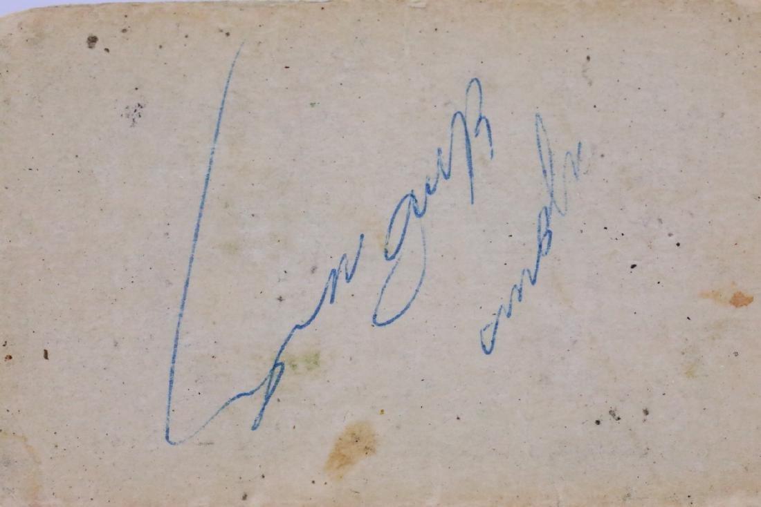 Elvis Presley Cut Signature in Plastic Capsule - 4