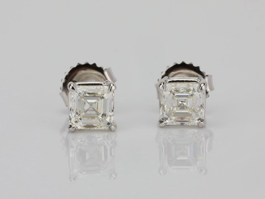 2.02ctw GIA VVS2/H & I Diamond 14K Stud Earrings