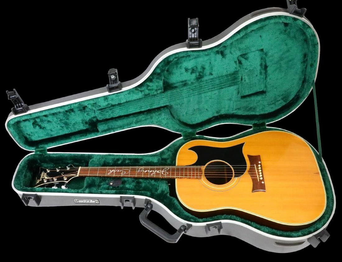 Johnny Cash's Prototype Grammer Guitar W/LOA