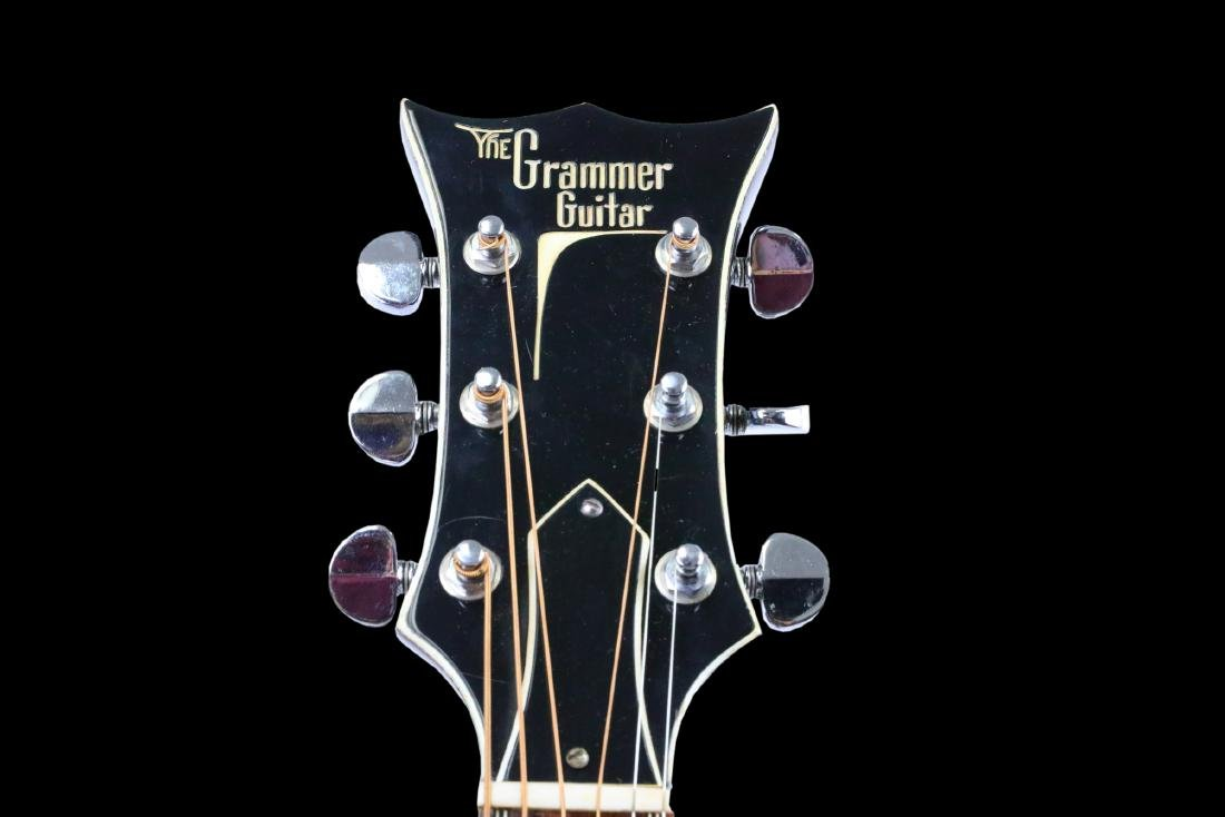 Johnny Cash's Prototype Grammer Guitar W/LOA - 4