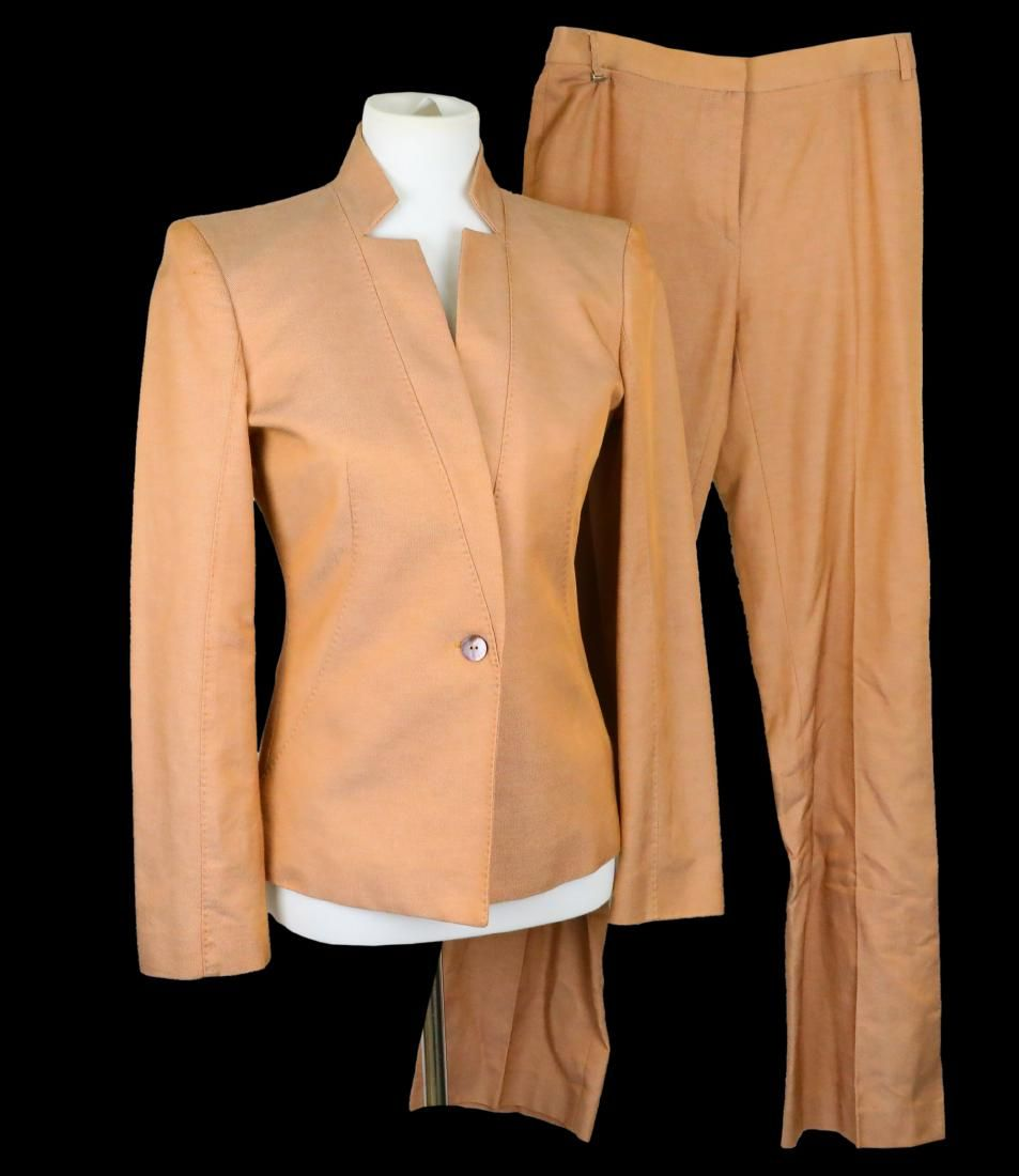 Prince's Salmon Pink Versace Suit Acquired From Former