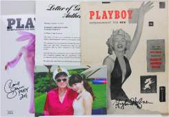 Hugh Hefner Signed Playboy Magazine First Issue PSA DNA