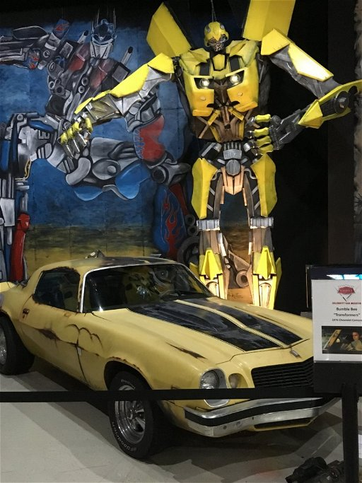 Transformers Fan Built Bumblebee 1976 Chevrolet Camaro