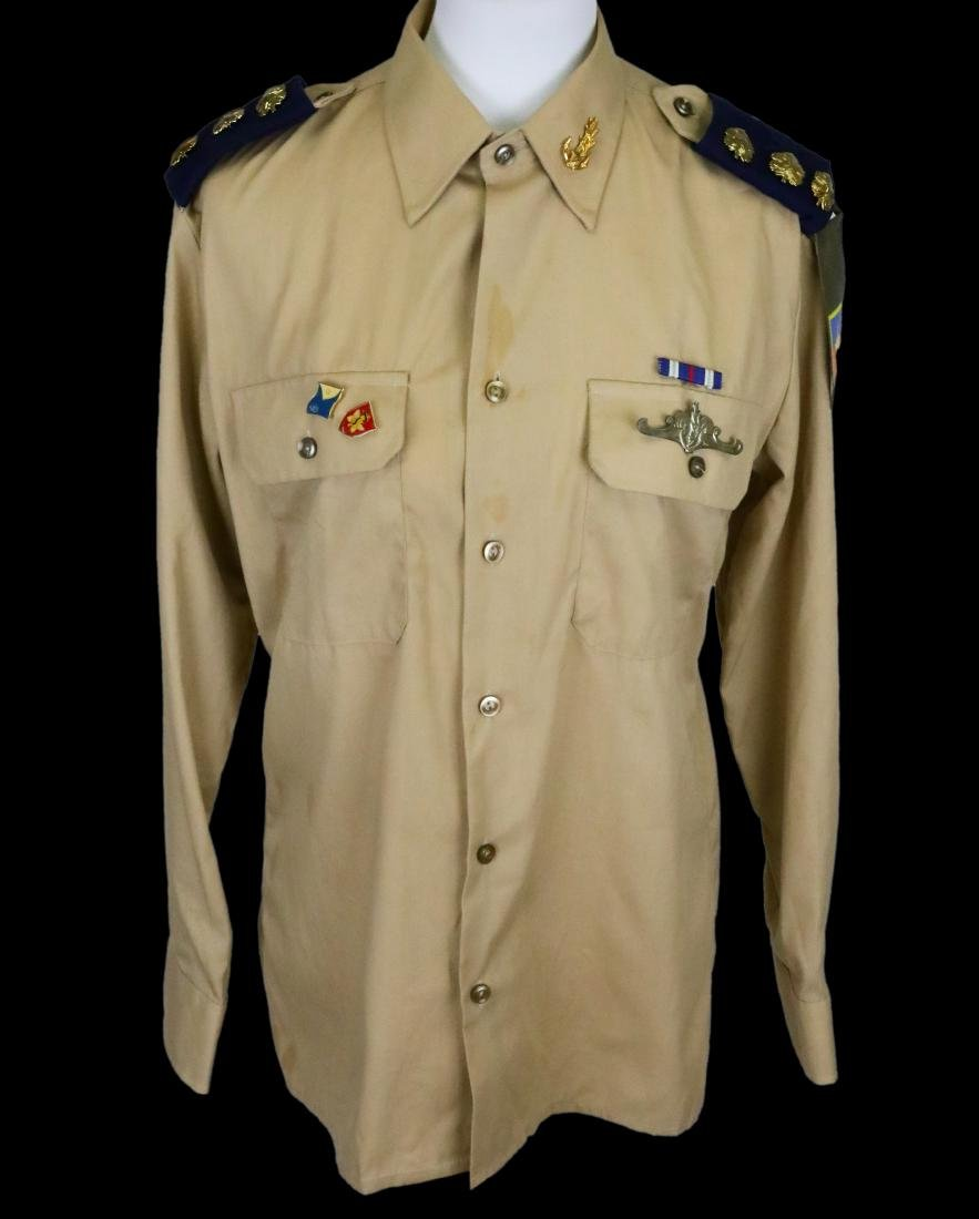 Michael Jackson's Personally Owned Military Style Shirt