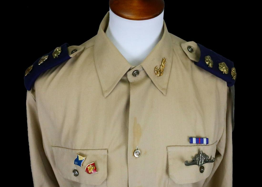 Michael Jackson's Personally Owned Military Style Shirt - 2