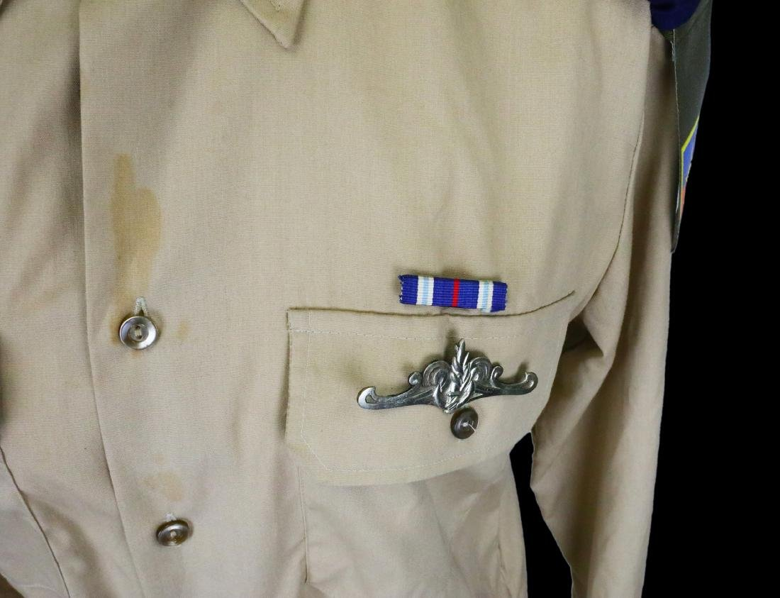 Michael Jackson's Personally Owned Military Style Shirt - 3
