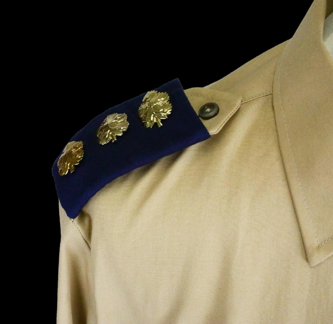 Michael Jackson's Personally Owned Military Style Shirt - 4