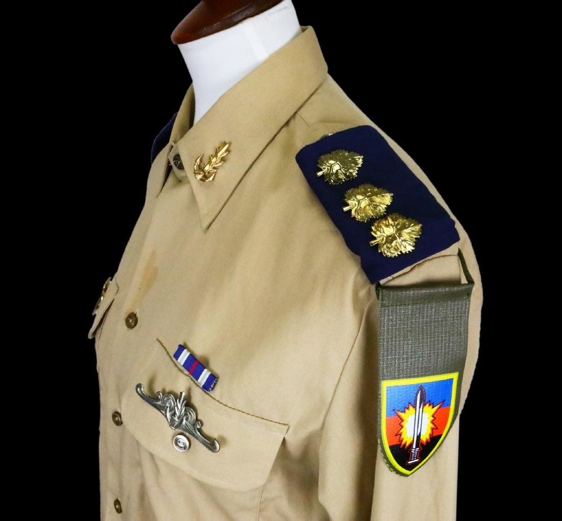 Michael Jackson's Personally Owned Military Style Shirt - 5
