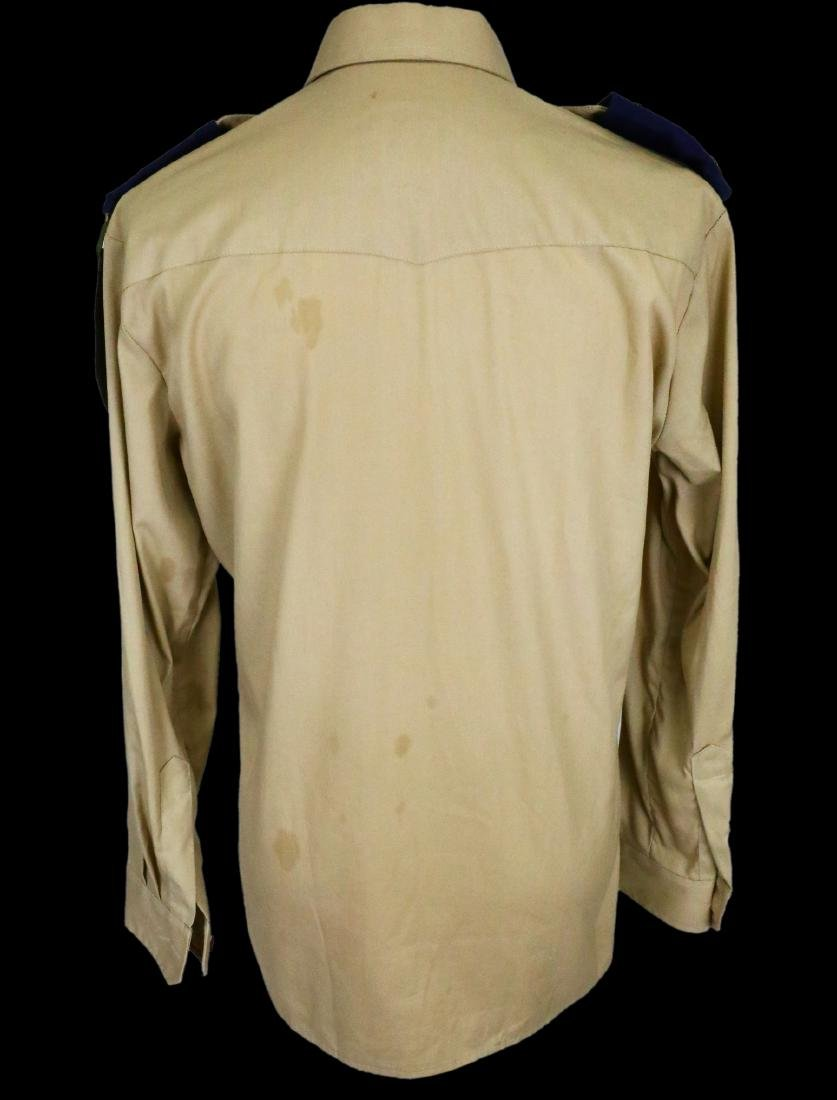 Michael Jackson's Personally Owned Military Style Shirt - 6
