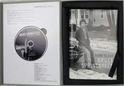 """Bruce Springsteen Signed """"Born to Run"""" Book & CD Box"""
