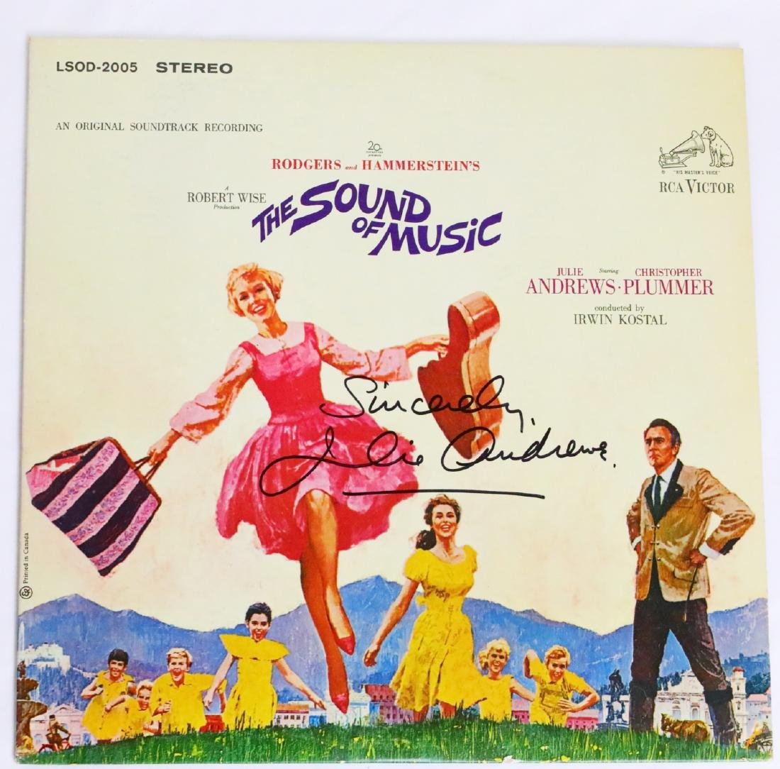The Sound of Music Cast Signed Photograph & Album Cover - 2