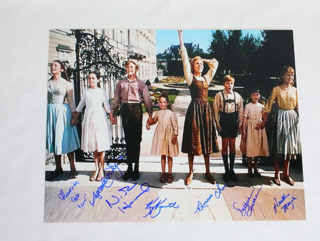 The Sound of Music Cast Signed Photograph & Album Cover - 3