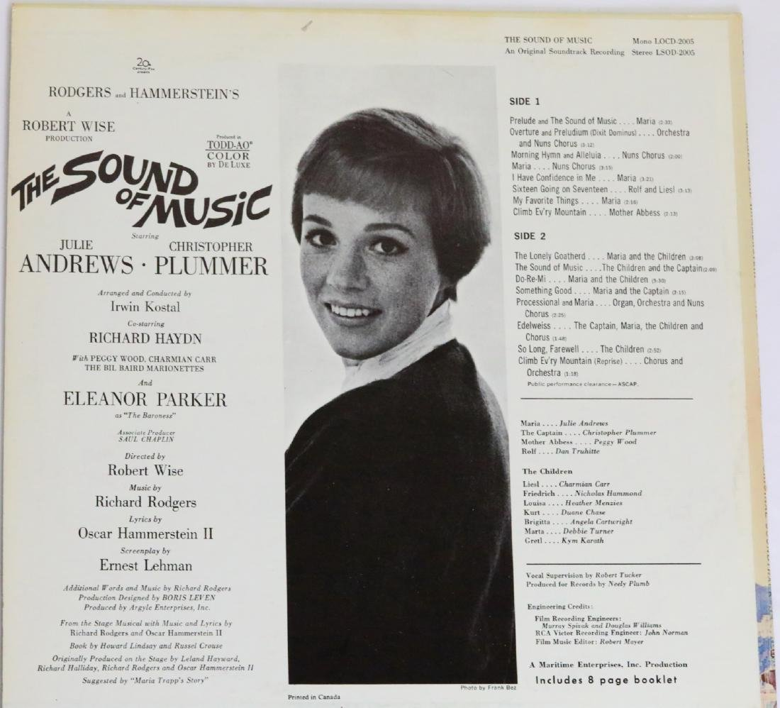 The Sound of Music Cast Signed Photograph & Album Cover - 6