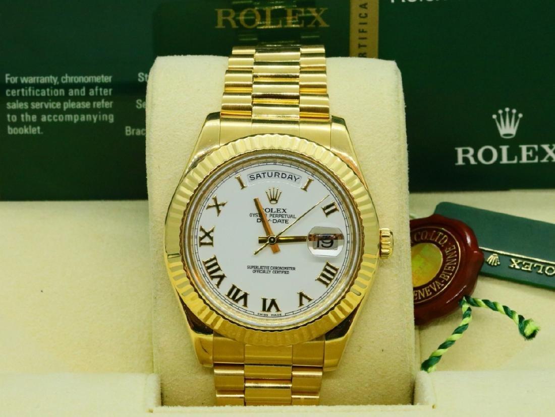 Rolex Presidential Day-Date 18K 40mm Watch