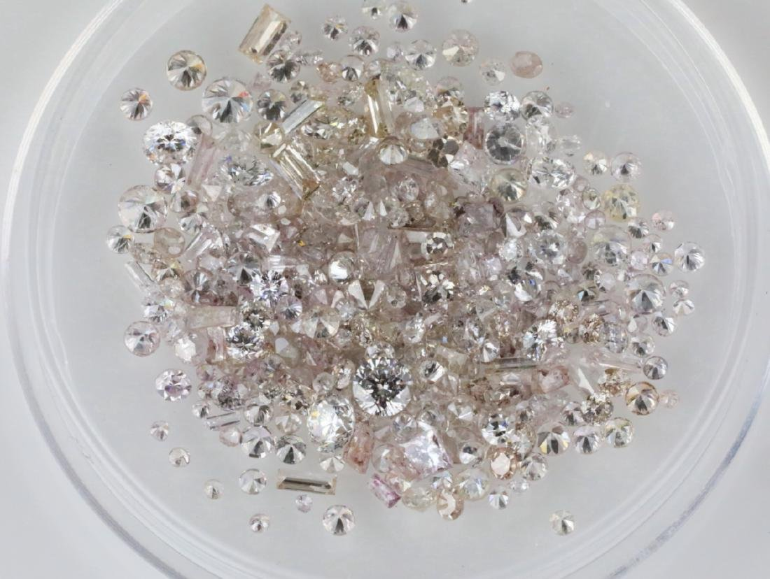 4.11ctw Unsearched Loose Diamonds in Capsule - 3