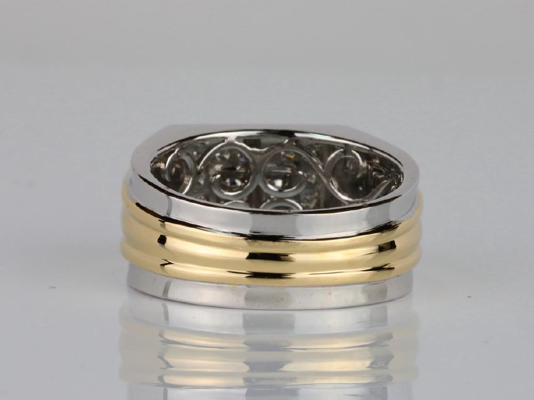 1.00ctw VS2-SI1 Yellow & White Diamond 14K Ring - 4