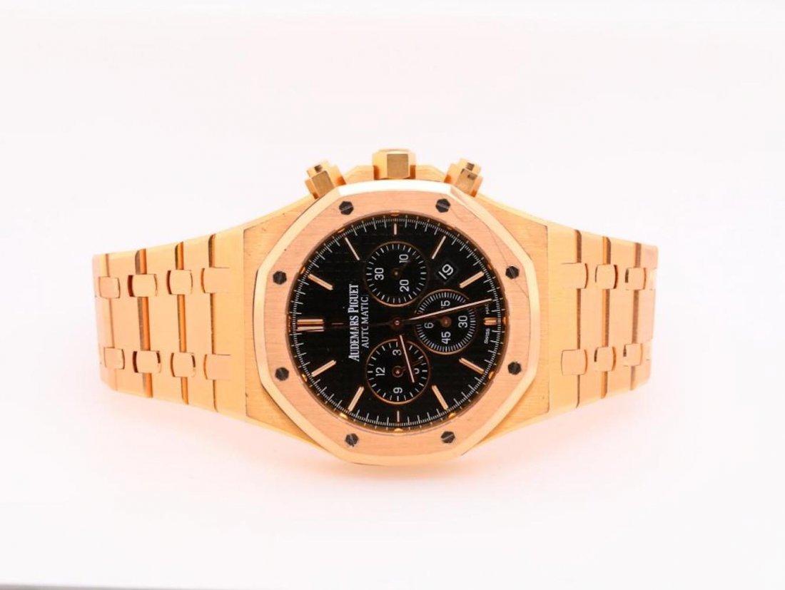 Audemars Piguet Royal Oak Chronograph 18K Watch - 2