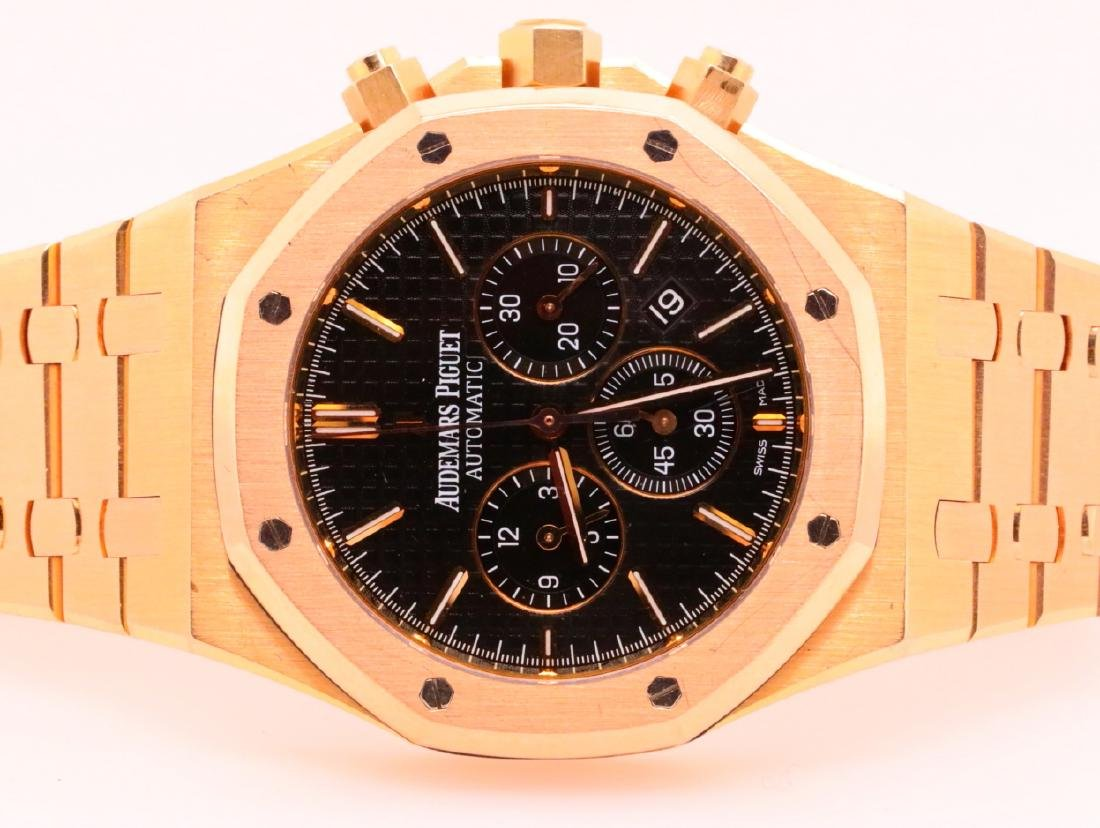 Audemars Piguet Royal Oak Chronograph 18K Watch - 3
