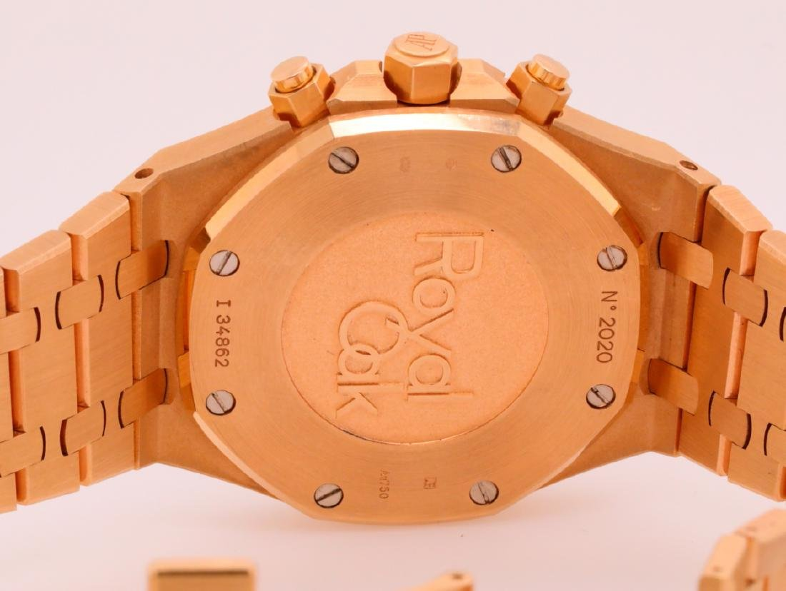Audemars Piguet Royal Oak Chronograph 18K Watch - 7