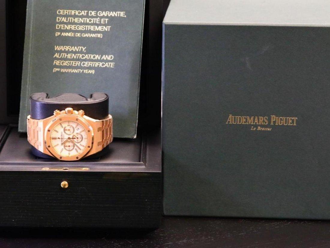 Audemars Piguet Royal Oak Chronograph 18K Watch