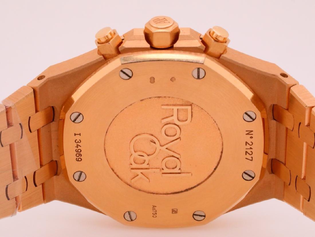 Audemars Piguet Royal Oak Chronograph 18K Watch - 8
