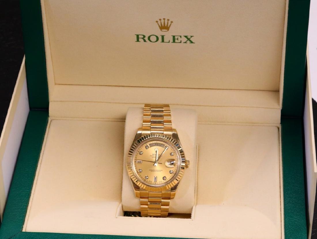 Rolex Presidential Day-Date 18K 41mm Watch
