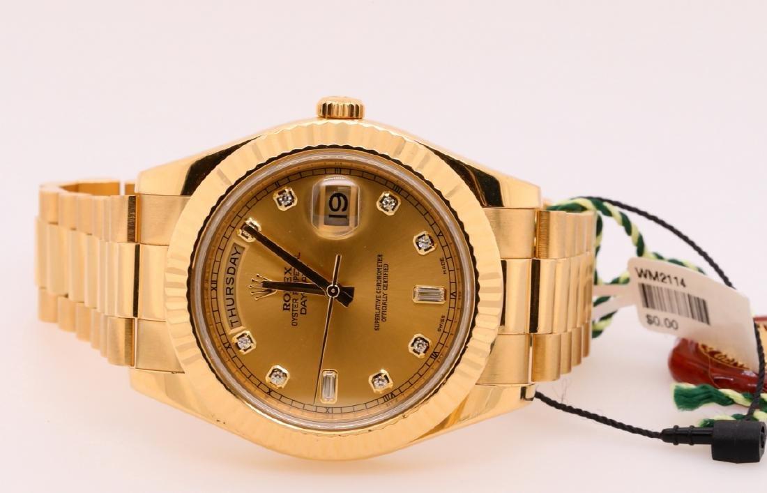 Rolex Presidential Day-Date 18K 41mm Watch - 2
