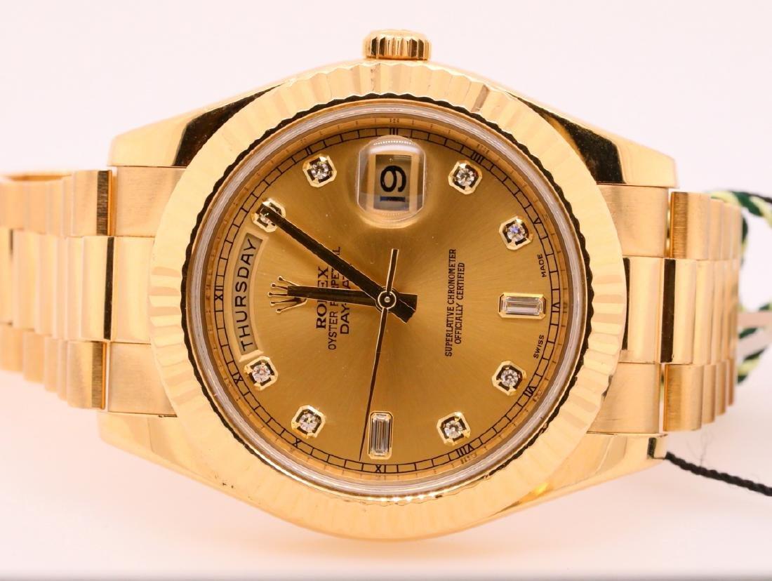 Rolex Presidential Day-Date 18K 41mm Watch - 3