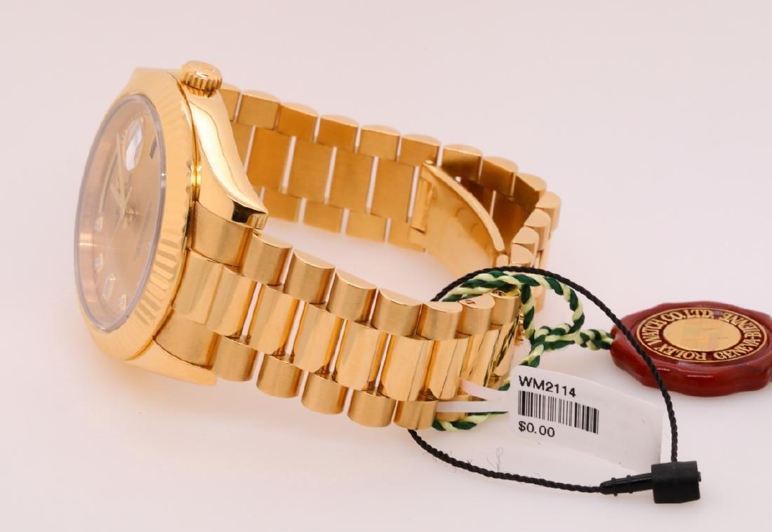 Rolex Presidential Day-Date 18K 41mm Watch - 4