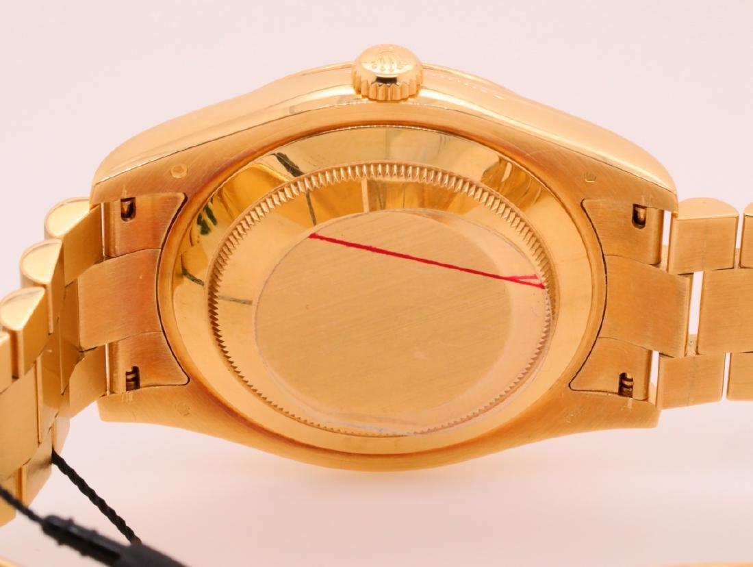 Rolex Presidential Day-Date 18K 41mm Watch - 7