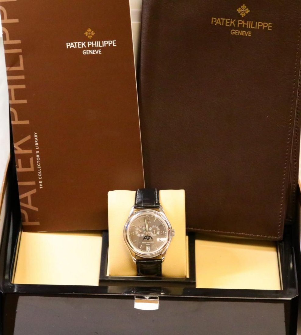 Patek Philippe Annual Calendar Moon Phase 18K Watch