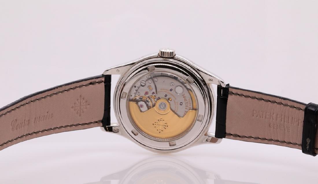 Patek Philippe Annual Calendar Moon Phase 18K Watch - 6