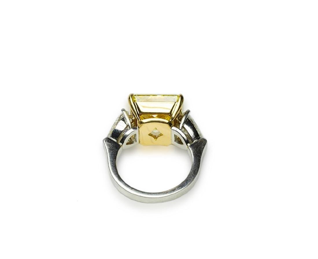 13.05ctw GIA VS1 Yellow/White Diamond Ring - 7
