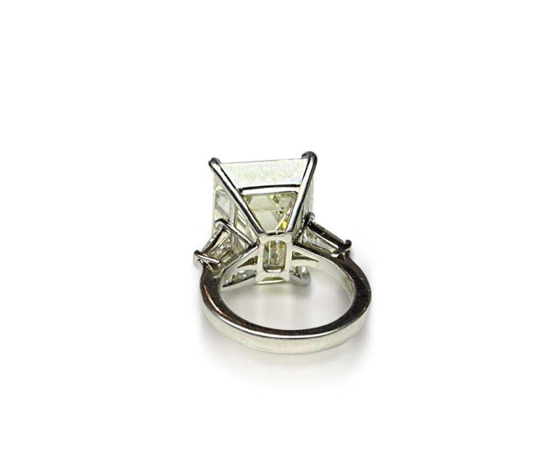16.97ct GIA VVS2/Y-Z Diamond in Platinum Ring - 8