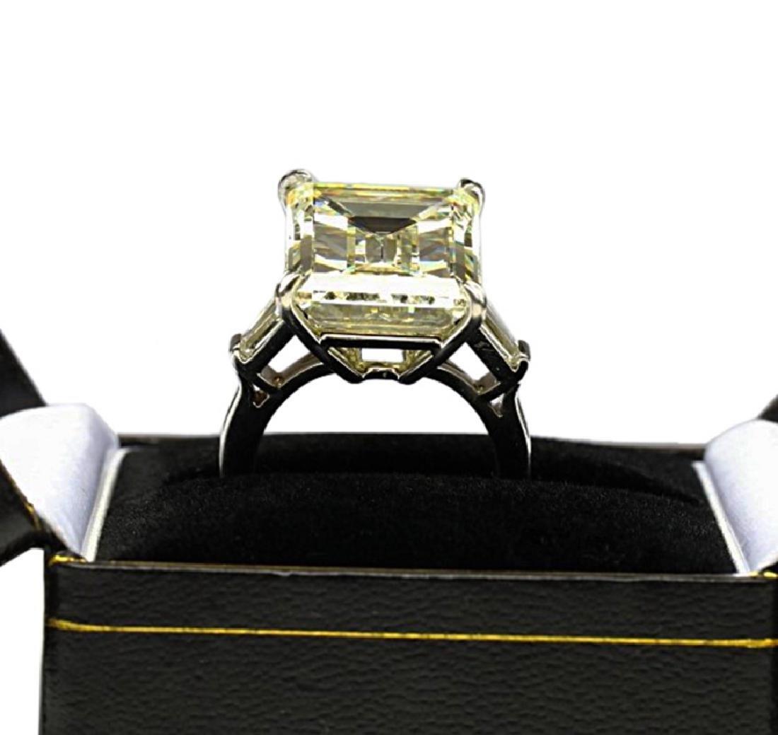16.97ct GIA VVS2/Y-Z Diamond in Platinum Ring - 9