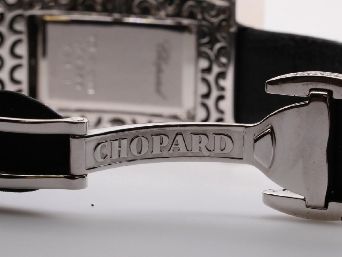 Chopard 10.49ctw Diamond & 18K Watch W/Papers - 10