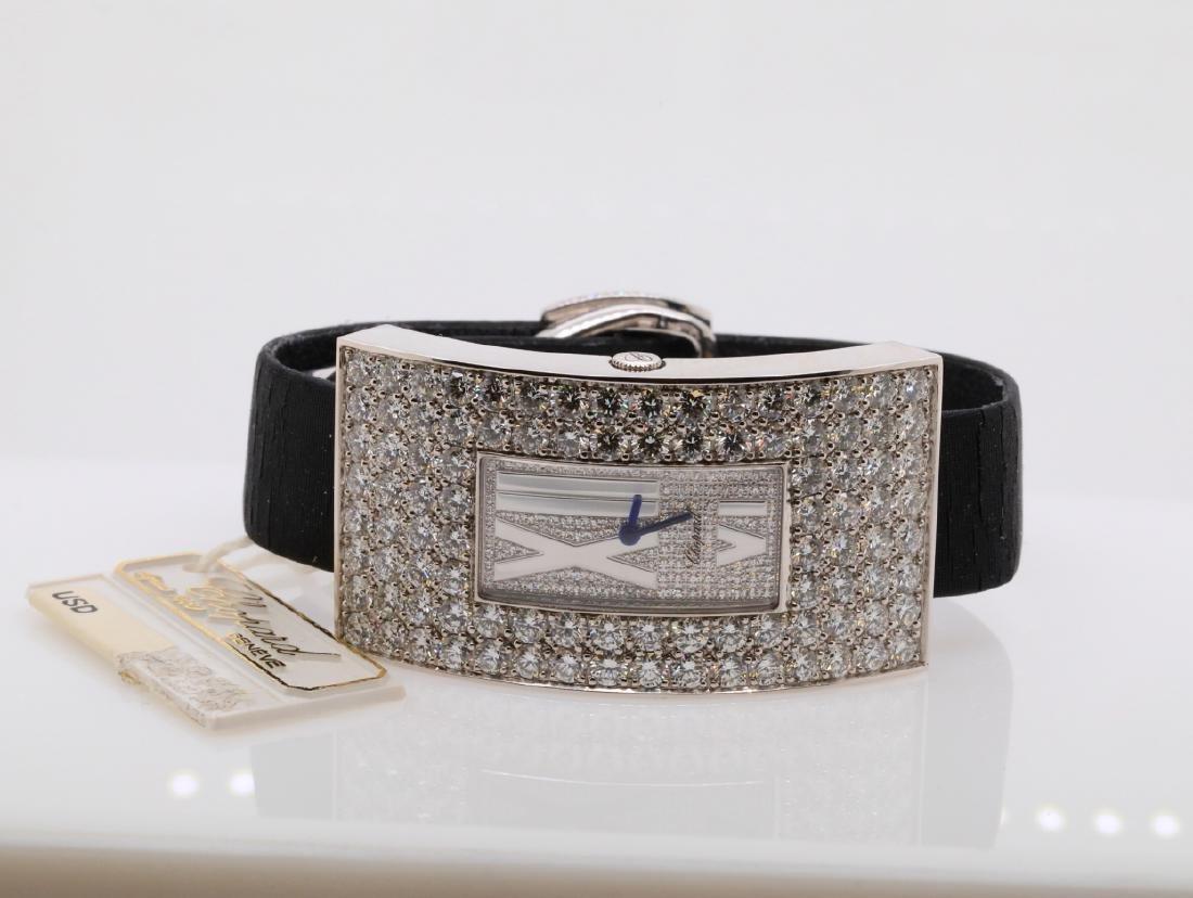 Chopard 10.49ctw Diamond & 18K Watch W/Papers - 3
