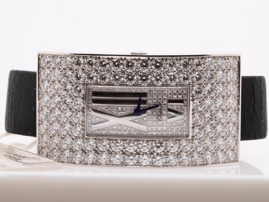 Chopard 10.49ctw Diamond & 18K Watch W/Papers - 4