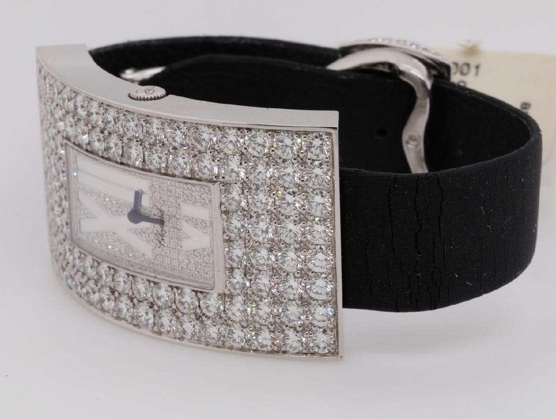 Chopard 10.49ctw Diamond & 18K Watch W/Papers - 5
