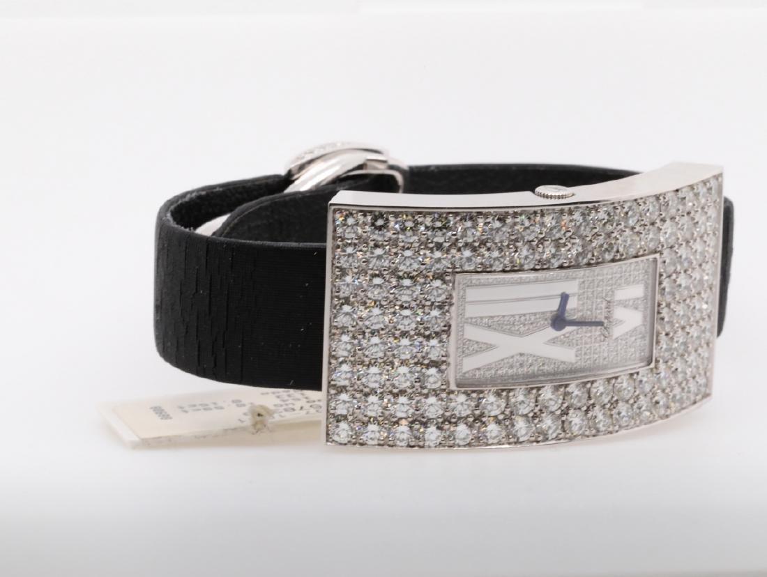 Chopard 10.49ctw Diamond & 18K Watch W/Papers - 6