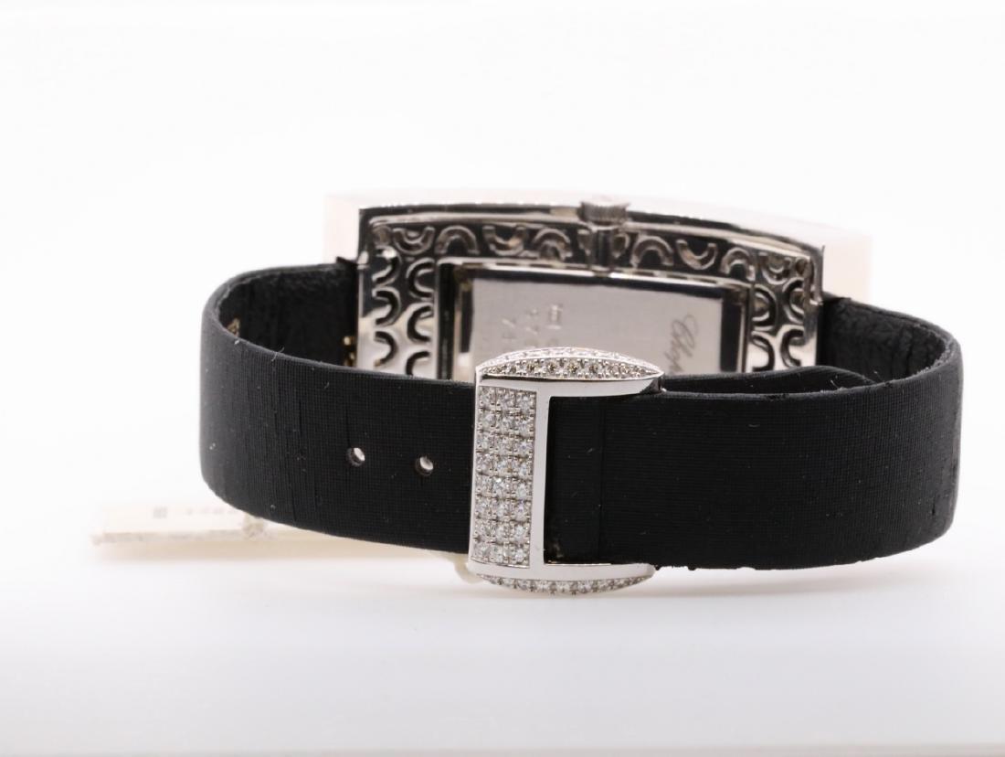 Chopard 10.49ctw Diamond & 18K Watch W/Papers - 7