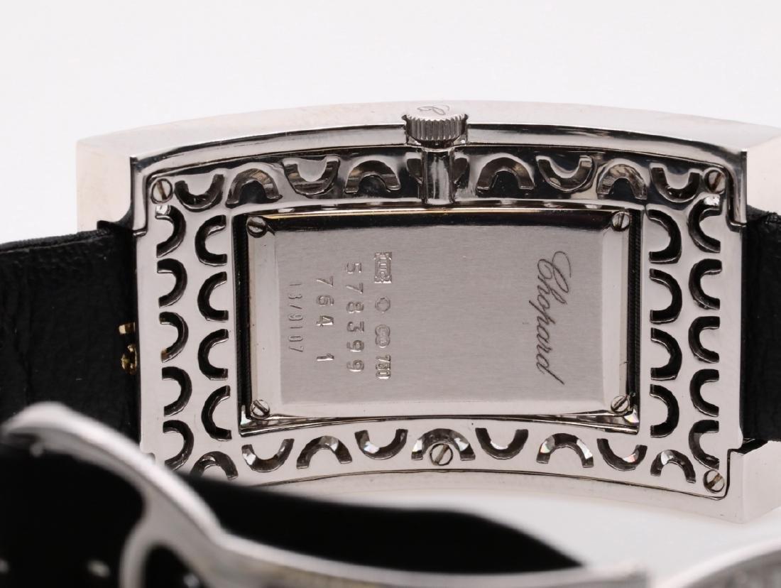 Chopard 10.49ctw Diamond & 18K Watch W/Papers - 9