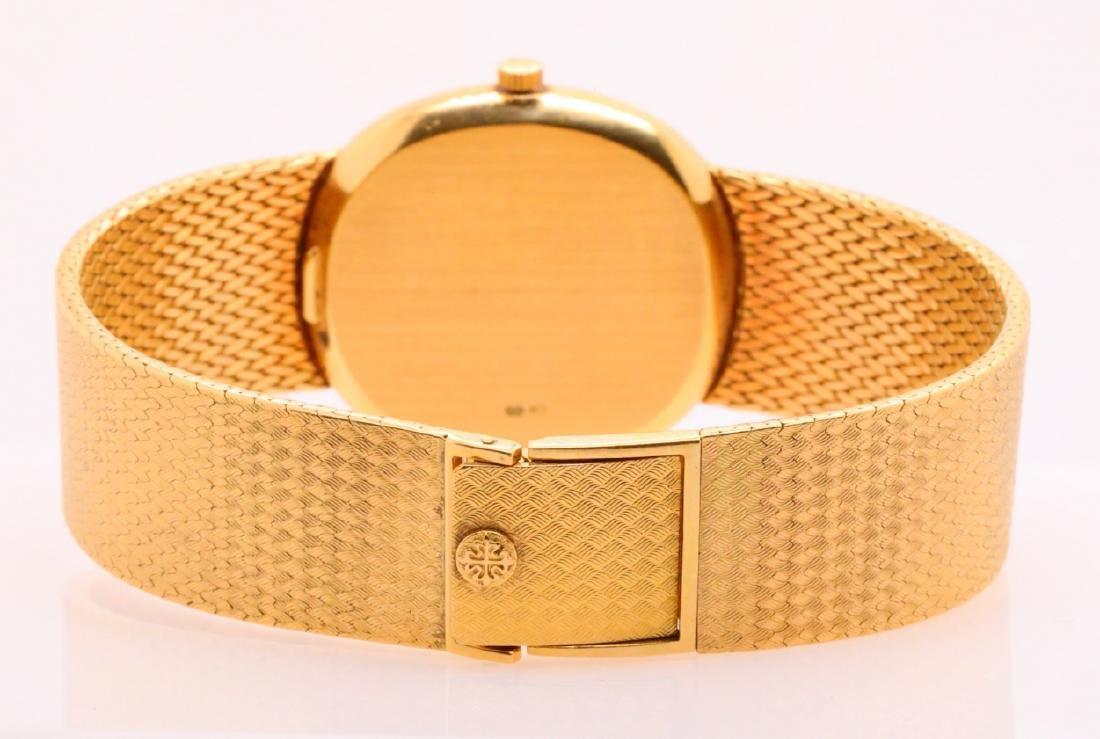Patek Philippe Vintage Golden Ellipse 18K Watch - 5