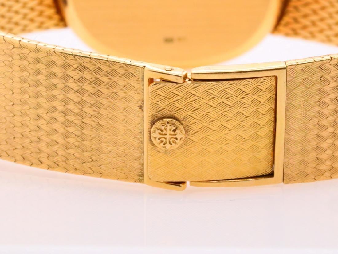 Patek Philippe Vintage Golden Ellipse 18K Watch - 6