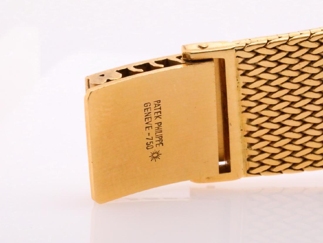 Patek Philippe Vintage Golden Ellipse 18K Watch - 8